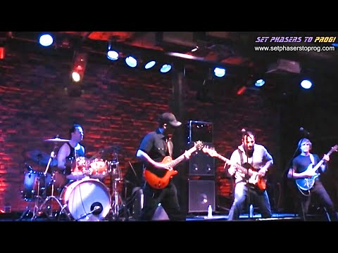 Live Progressive Rock Music / Instrumental Guitar Concert By SET PHASERS TO PROG!