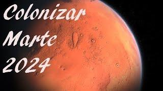 Elon Musk llevará a los Humanos a Marte en 2024