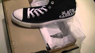 Chuck Taylor All Star black sabbath converse