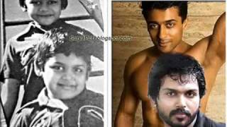 HQ SURYA  KARTHI CHILDHOOD