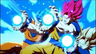 Goku, Vegeta, Gohan, Trunks, Teen Gohan & Gotenks[Super Saiyan God] - Dragon Ball FighterZ Mods