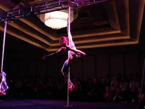 Winner of Miss Pole Dance Australia 2006 Felix Cane