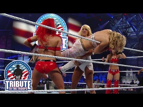 Divas Battle Royal: Tribute To The Troops 2013 video