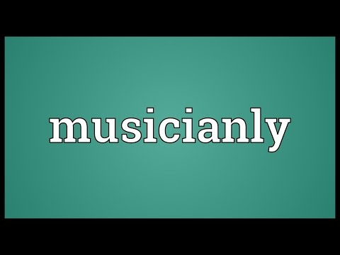 Header of musicianly