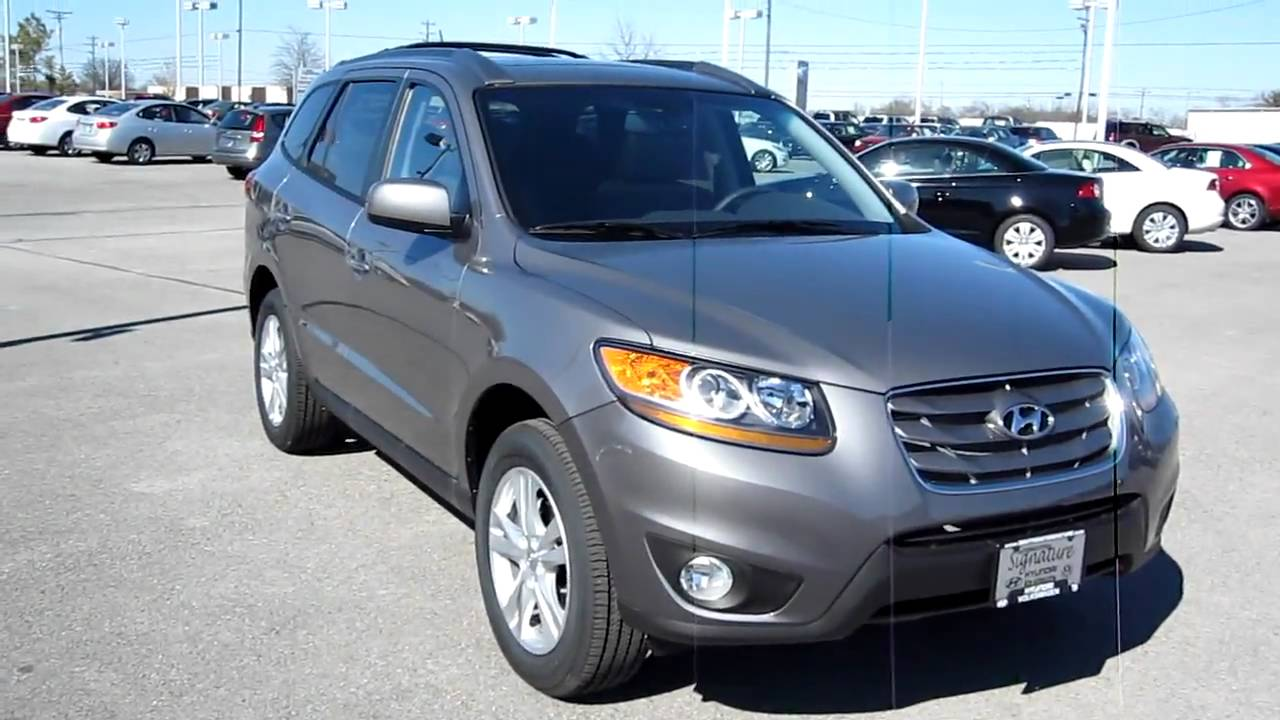 2010 hyundai santa fe limited at vw hyundai of murfreesboro youtube. Black Bedroom Furniture Sets. Home Design Ideas