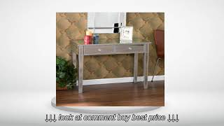 Mirage Mirrored 2 Drawer Console Table
