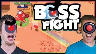 Trolling Boss Fight | Winning with the Worst Team Ever | Lex and Kairos Brawl Stars