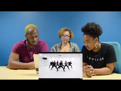 MY FRIENDS REACT TO BTS-BLOOD, SWEAT, AND TEARS DANCE PRACTICE