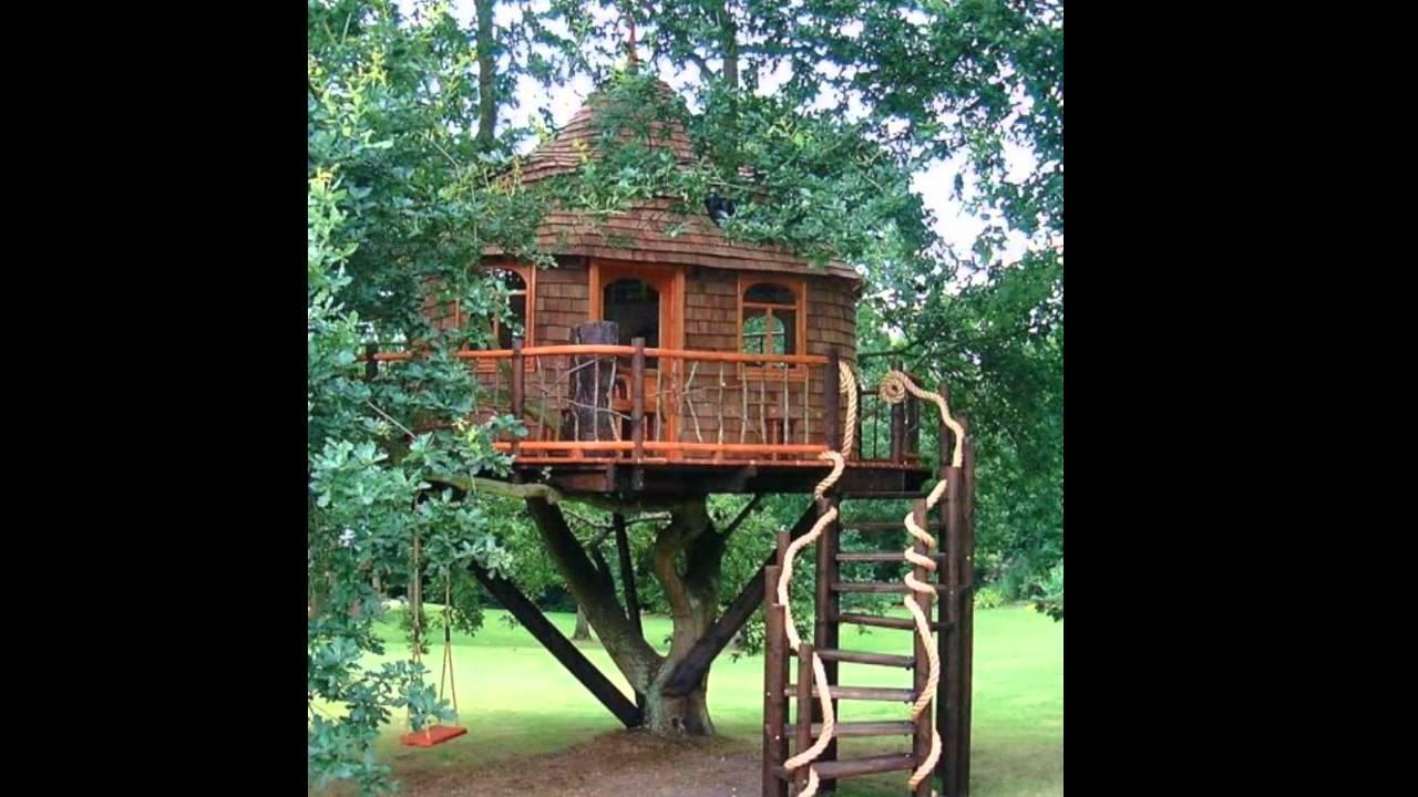 La nuova concezione di lusso la casa sull 39 albero youtube - Casa sull albero da costruire ...