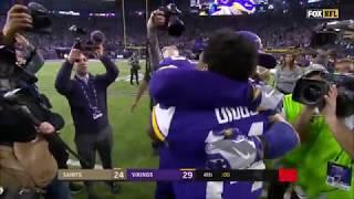 Relive The Miracle Ending Vikings vs Saints