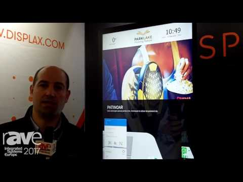 ISE 2017: Displax Showcases Skin Dualtouch Large Multitouch Projected Capacitive
