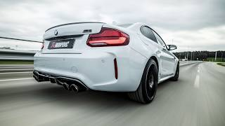 Akrapovic Slip-On Exhaust For EU-spec BMW M2 Competition