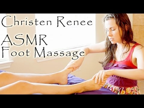 ASMR Foot Massage – Soft Spoken Relaxation Massage Therapy Swedish Techniques For Feet