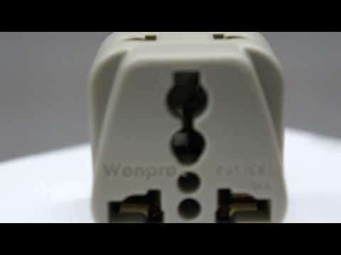 Universal Power Plug Adapter Grounded Australia/China - www.Popularelect.com