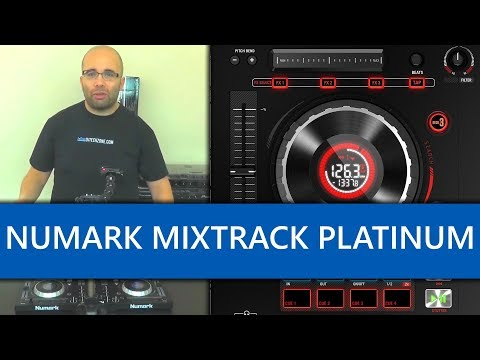 Numark Mixtrack Platinum Controlador Para Serato DJ Video Revisión