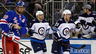 Jets' Laine lights up the Rangers for hat trick