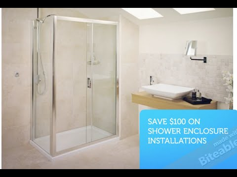 Shower Enclosure Installations and Glass Repair in Maryland. DC. And Virginia
