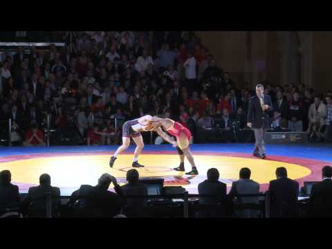 Iran Beats US in NY Wrestling