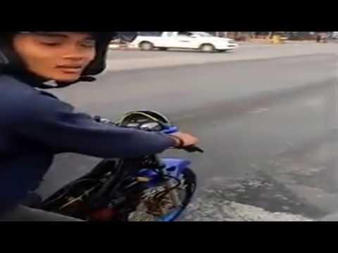 Honda Sonic Vs Moge, Moge Kalah Telak !