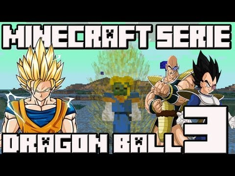 Minecraft 1.4.7 MINI-SERIE Mod Dragon Ball!! Cap.3