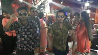 city commerce college reunion program by dj party dancing with kala chashma