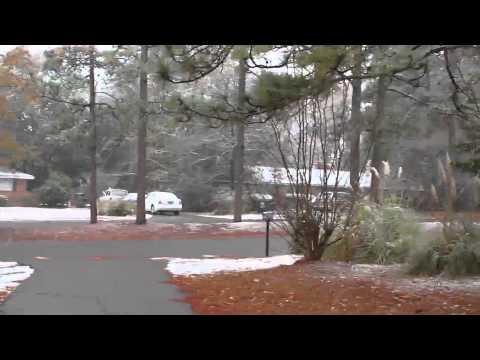 Snow in Aiken SC