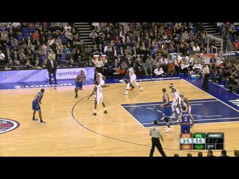 Carmelo Anthony's Full Highlights 16/01/15 - 25 Pts