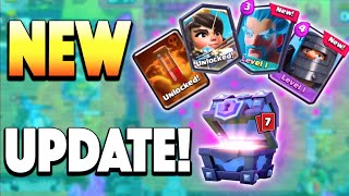 NEW UPDATE IS OUT! SUPER MAGICAL CHEST OPENINGS! How to Get Clash Royale New Update! Global Launch