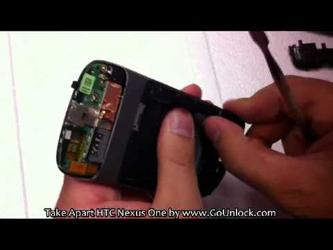 HTC Nexus One Screen Disassemble/Take Apart/Repair Video Guide