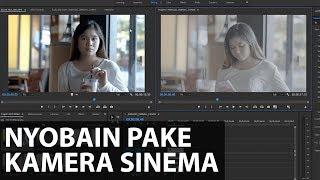 Review Kamera Kelas Sinema, MANTAP BROOH!!   Canon EOS C200 Indonesia