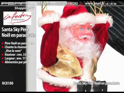 Automate Pere Noel Parachute Père Noël en Parachute ''santa