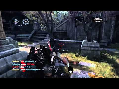 Gears of War: Ultimate Edition - Gnasher killing spree!
