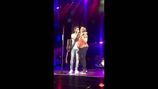 Thomas Rhett And Lauren During Unforgettable