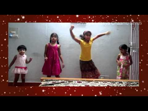 A very cute dance on Ringa Ringa from arya 2