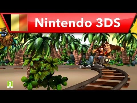 Donkey Kong Country Returns 3D - Pub TV (Nintendo 3DS)