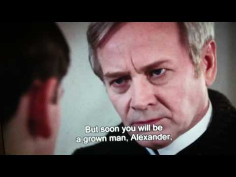 "Clip from Ingmar Bergman's masterpiece, ""Fanny and Alexander."""
