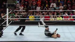 WWE Best 100 Superman Punches Of All Time   Roman Reigns