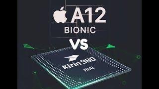 A12 bionic chip Vs Kirin 980  🔥