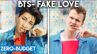 Download Lagu K-POP WITH ZERO BUDGET! (BTS- 'FAKE LOVE') Gratis STAFABAND