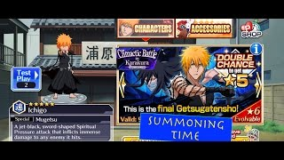 Final Getsugatensho! Summons (DANGAI ICHIGO, AIZEN AND BARRAGAN) // BLEACH Brave Souls