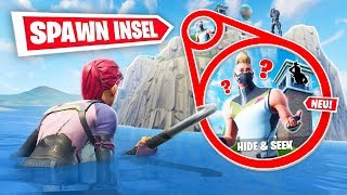 *NEU* Fortnite SPAWN INSEL Hide & Seek!