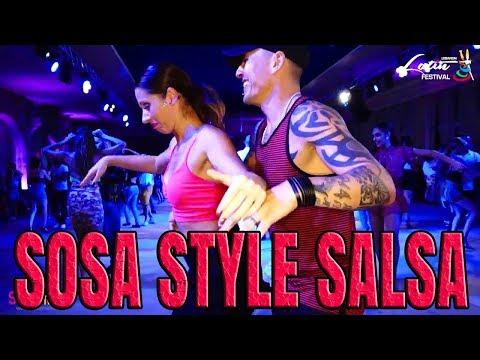 Fernando Sosa - Tatiana Bonaguro Social Salsa | LLF-2017