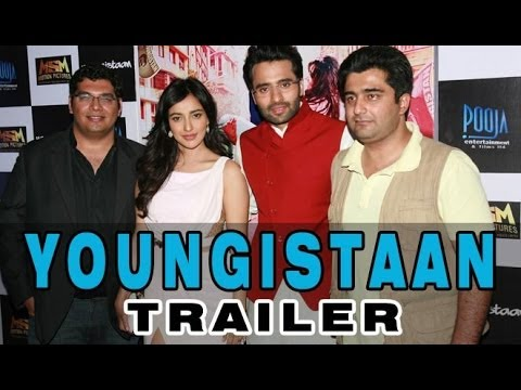 Jackky Bhagnani, Kayoze Irani And Neha Sharma At The 'youngistaan' First Look Launch video