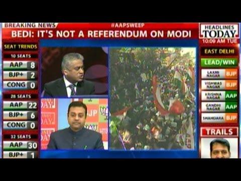 Delhi elections: Results does not reflect Modi's defeat, says BJP's Sambit Patra