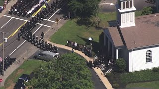 Web Extra: Sea Of Police Officers Pays Tribute To Slain Sgt. Michael Chesna
