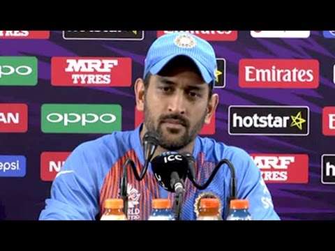 World T20: Mahendra Singh Dhoni on India's Last-Ball Win vs Bangladesh