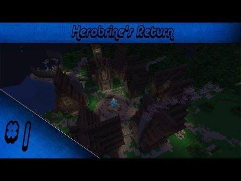Minecraft Herobrine's Return - Ep1 - Novi Gost