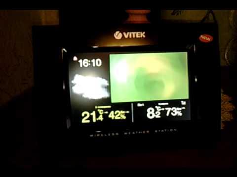 Метеостанция Vitek 6401. Совместимость датчиков - YouTube