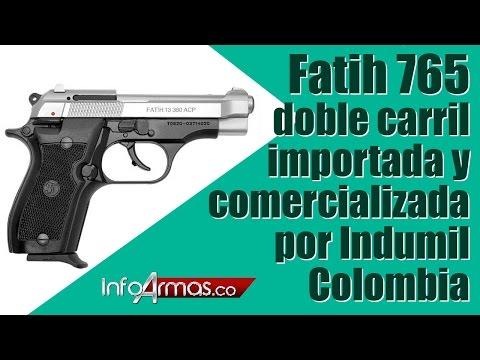 Pistola Fatih 765 doble carril Importada y comercializada por indumil Colombia