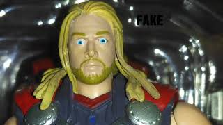 [NgoBar] Comparison Shf Thor Original vs Fake / Bootleg
